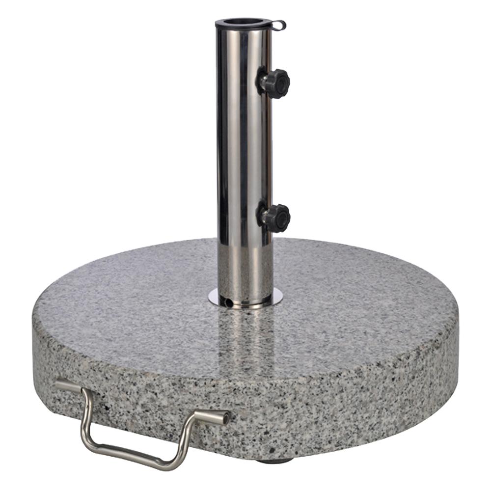 granitschirmst nder 30 kg sonnenschirmst nder schirmst nder granit st nder neu ebay. Black Bedroom Furniture Sets. Home Design Ideas